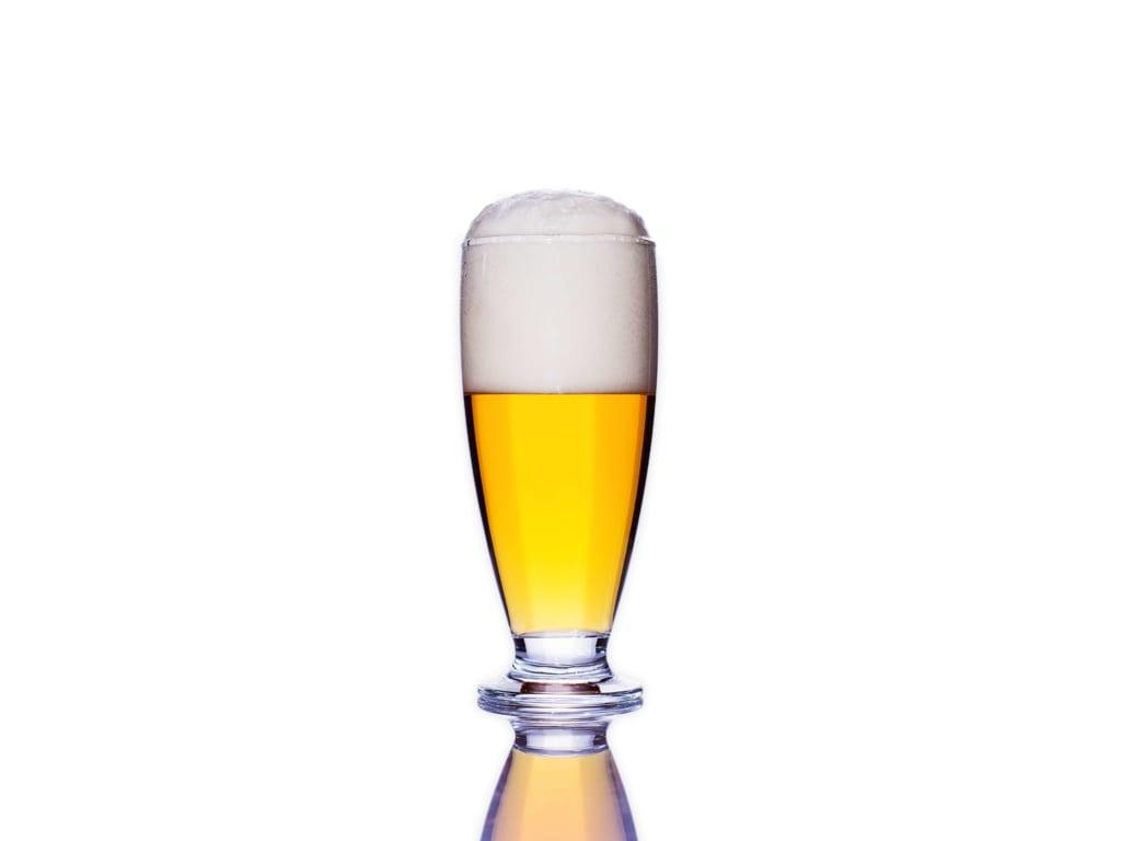 きれいなビールグラス
