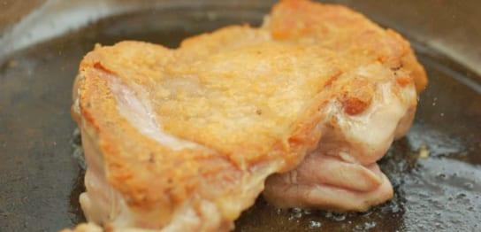 美味しそうな鶏肉