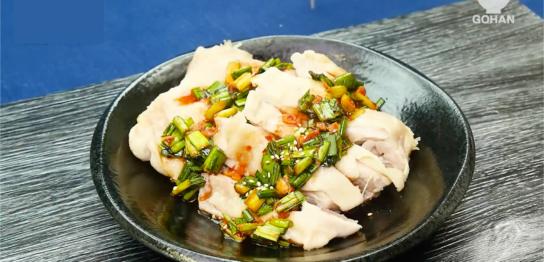 ニラと鶏肉のレシピ