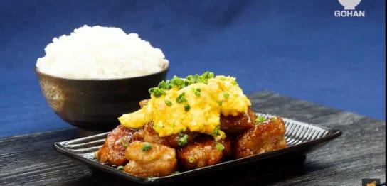 鶏肉とたまごサラダのレシピ