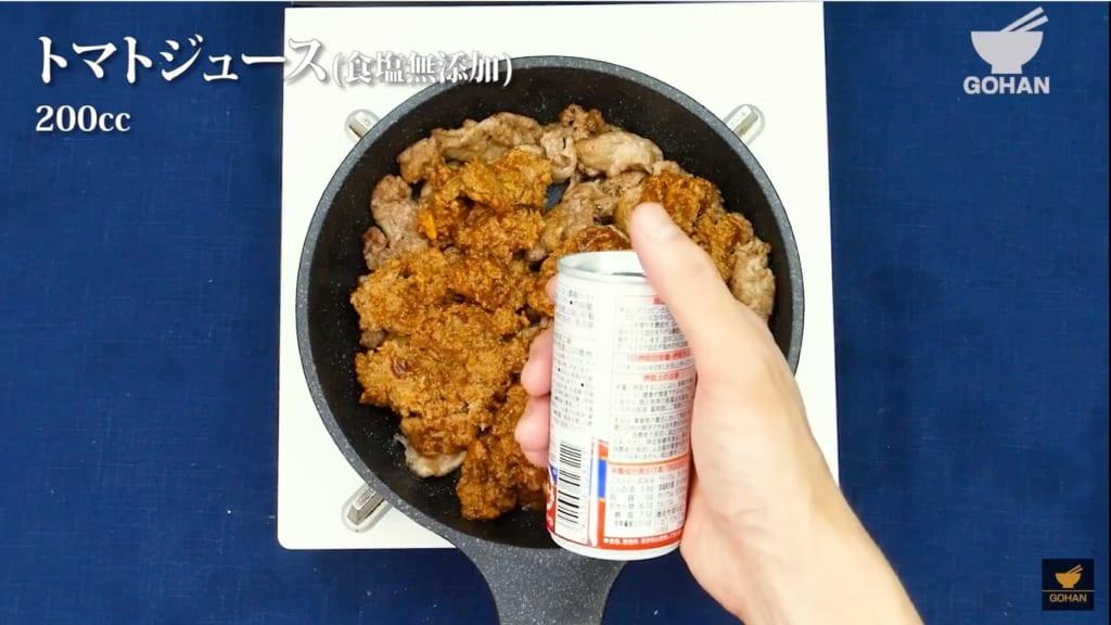 トマトジュース缶