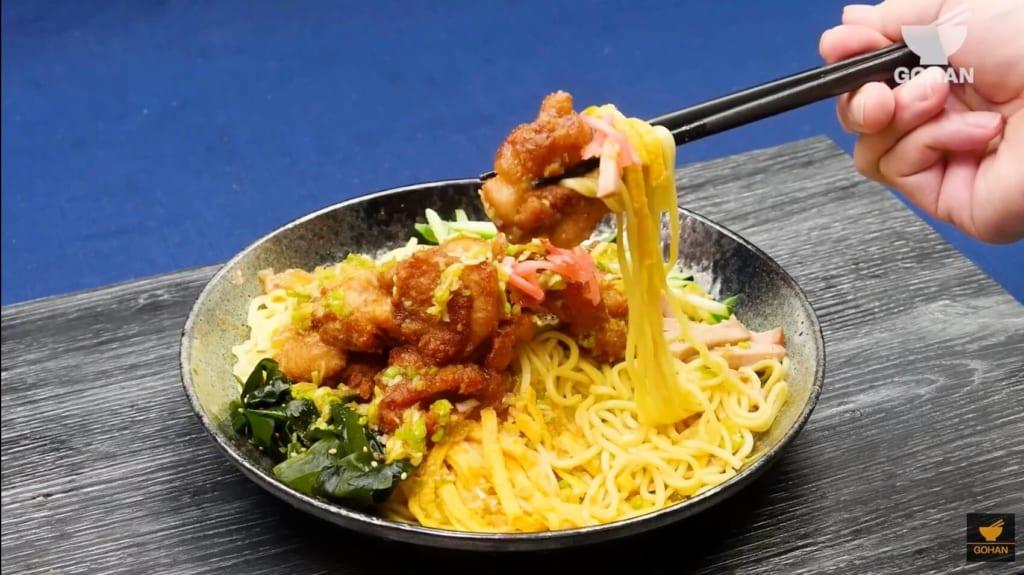 鶏肉の冷やし中華