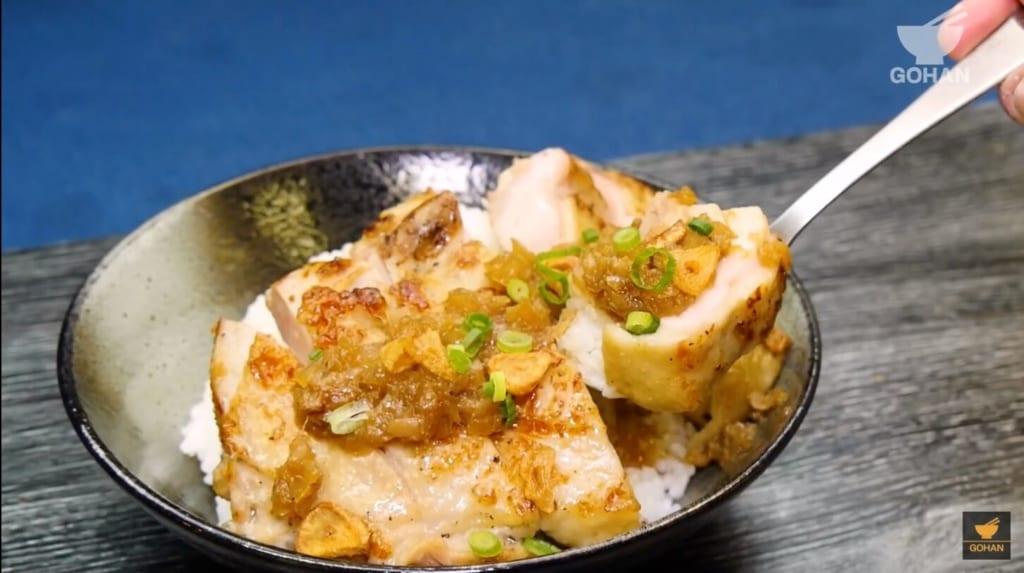 鶏肉のシャリアピンステーキ