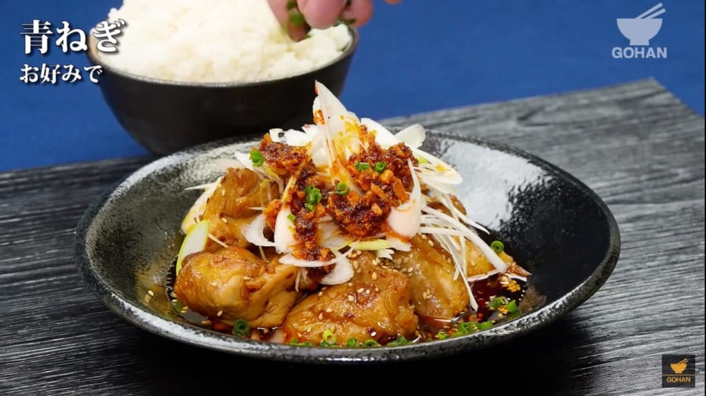 鶏肉ピリ辛レシピ