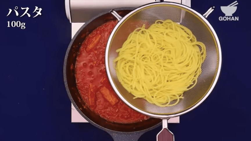 絶品トマトパスタ
