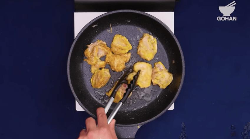 チキン焼き方