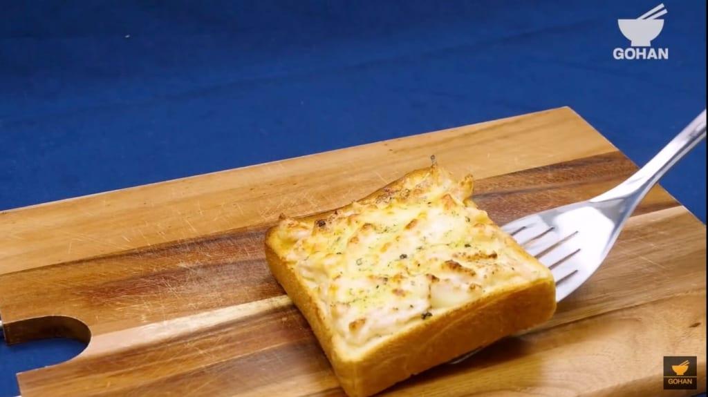 こんがりとしたトースト