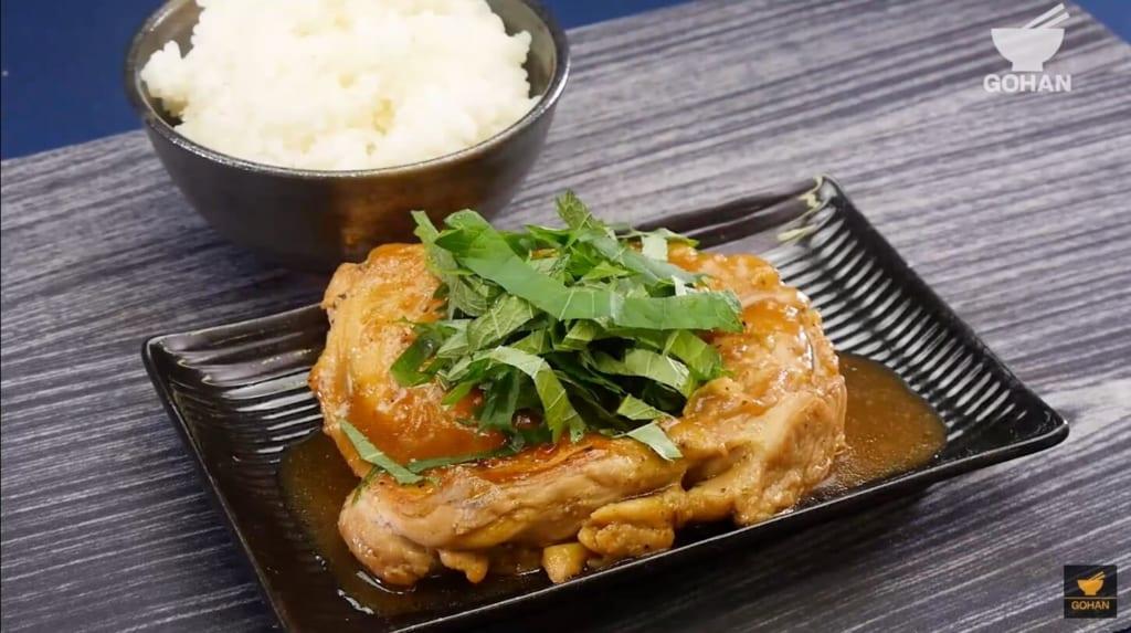 おいしそうな鶏肉料理