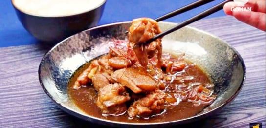 にんにくと胡椒で味付けした鶏肉レシピ