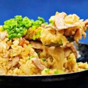生姜焼きの丼レシピ