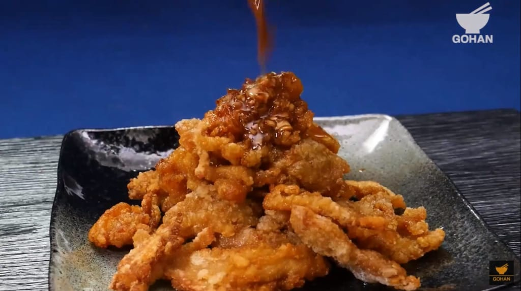 カリカリの鶏皮レシピ