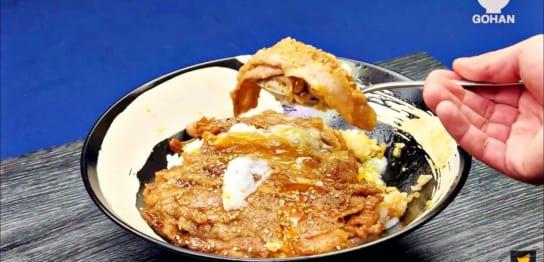 豚肉の丼レシピ