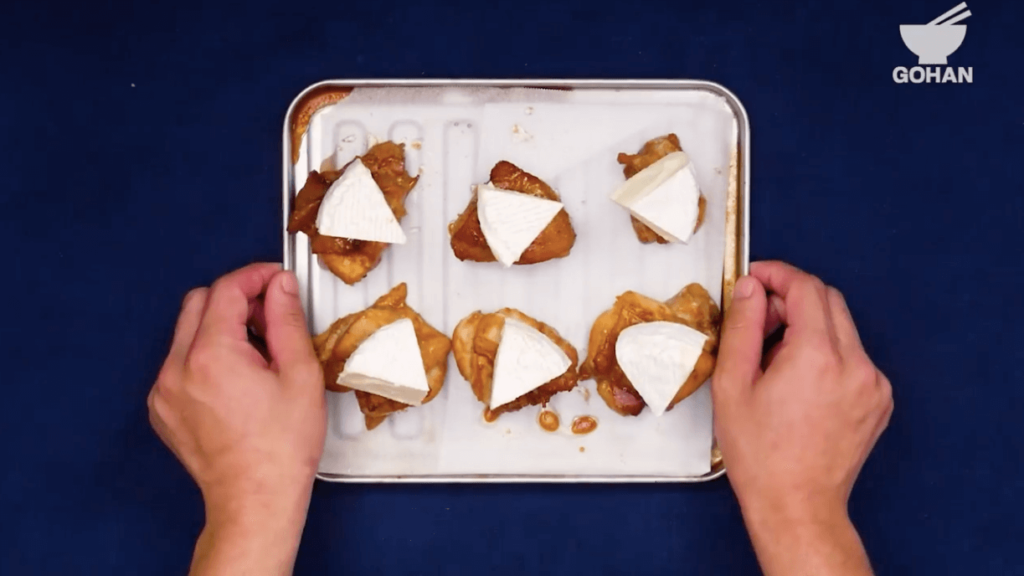 トースターでチキンのレシピ