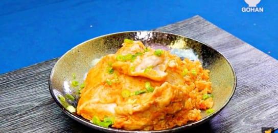 鶏肉がのった丼レシピ