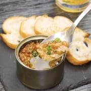 納豆とツナ缶で作るアヒージョ