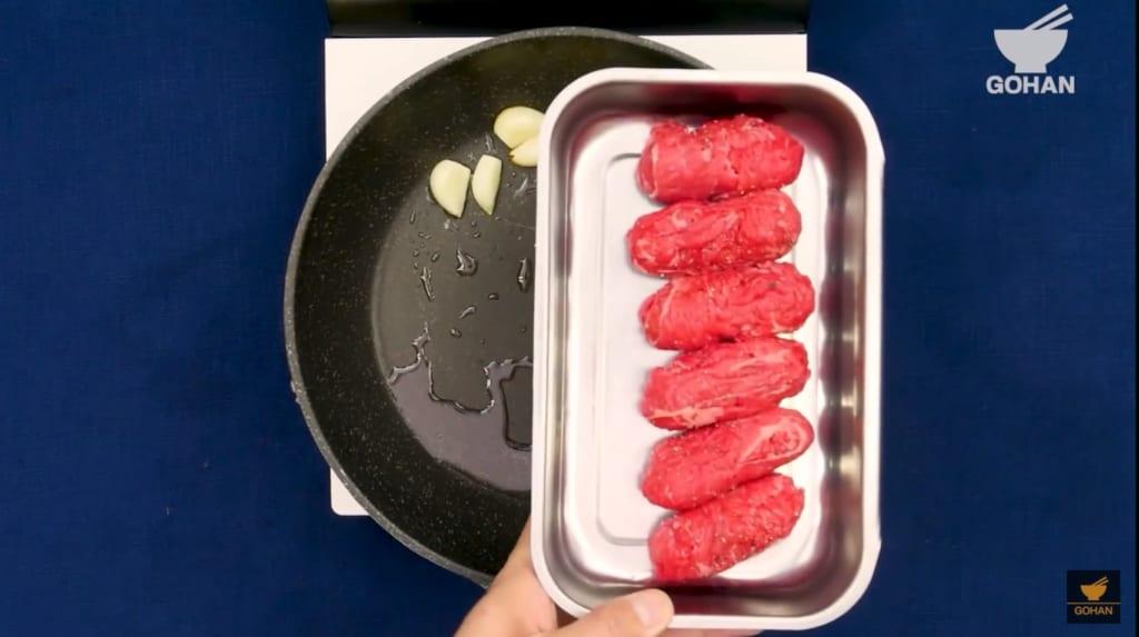 肉巻きウインナー