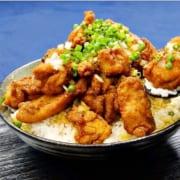 唐揚げ丼レシピ