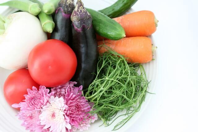 おかひじきと色々な野菜