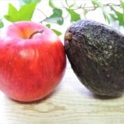 アボカドとリンゴ