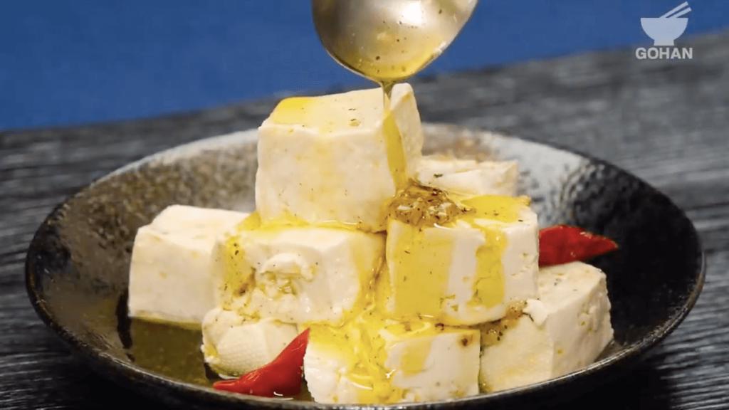 オリーブオイル漬け豆腐レシピ