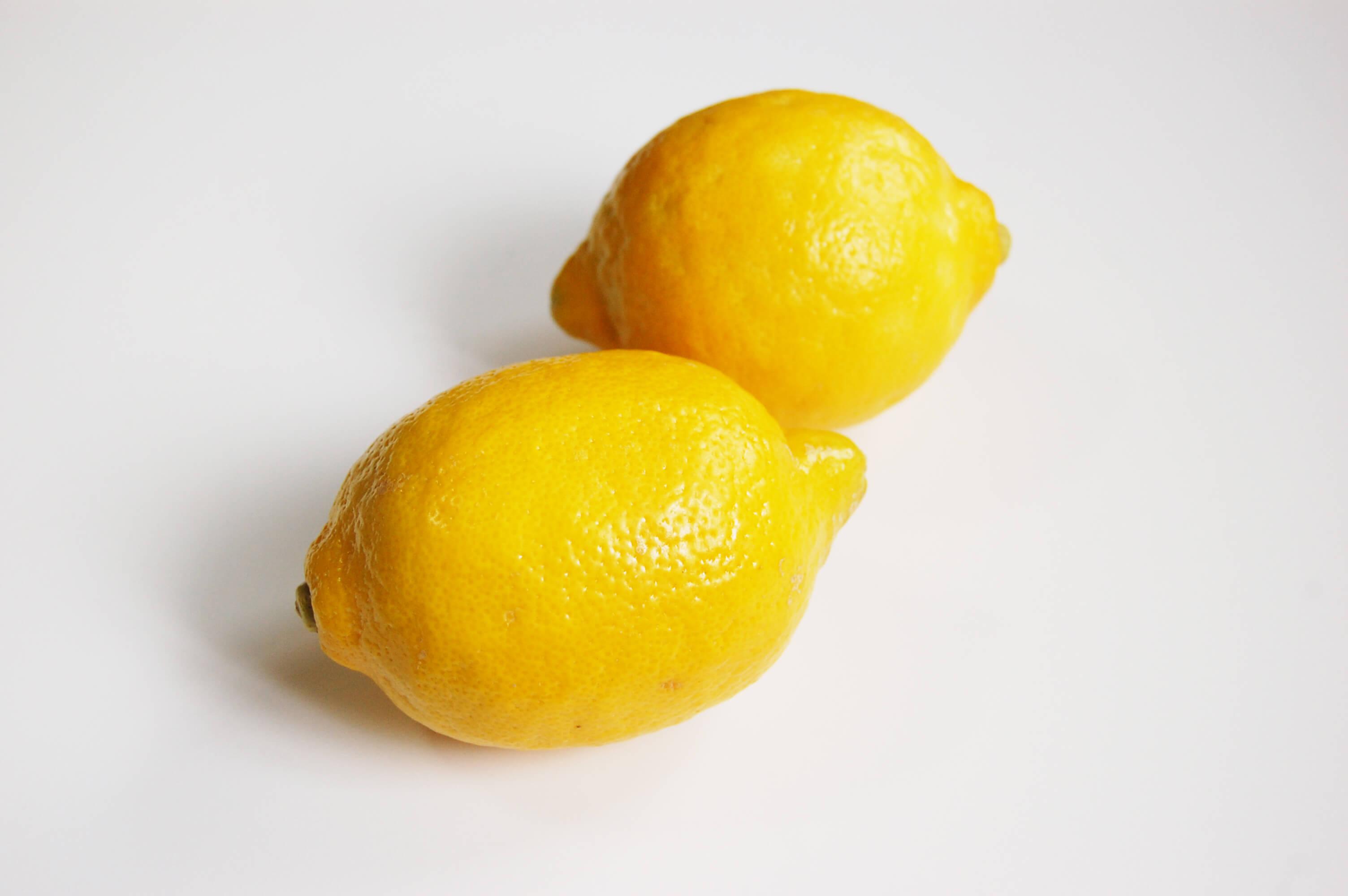 2個のレモン
