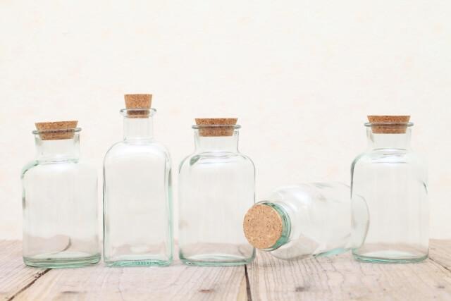 綺麗な空き瓶