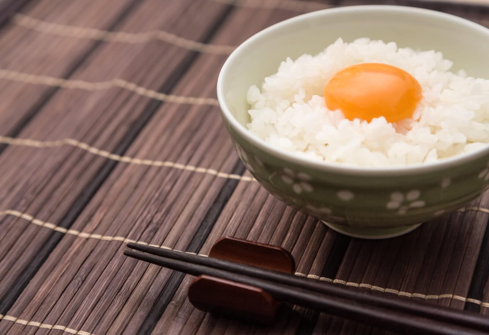 美味しそうな卵かけご飯
