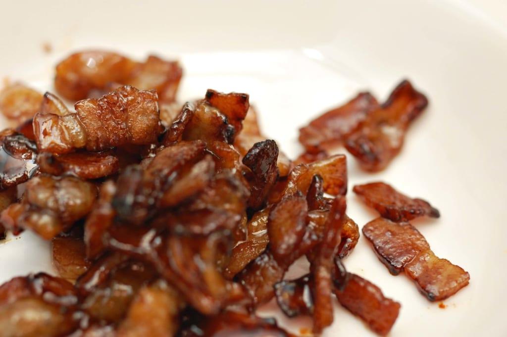 味付けした豚バラスライス肉