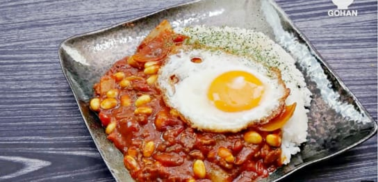 ひき肉のトマトカレー