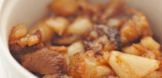 豚バラ肉のチャーシュー