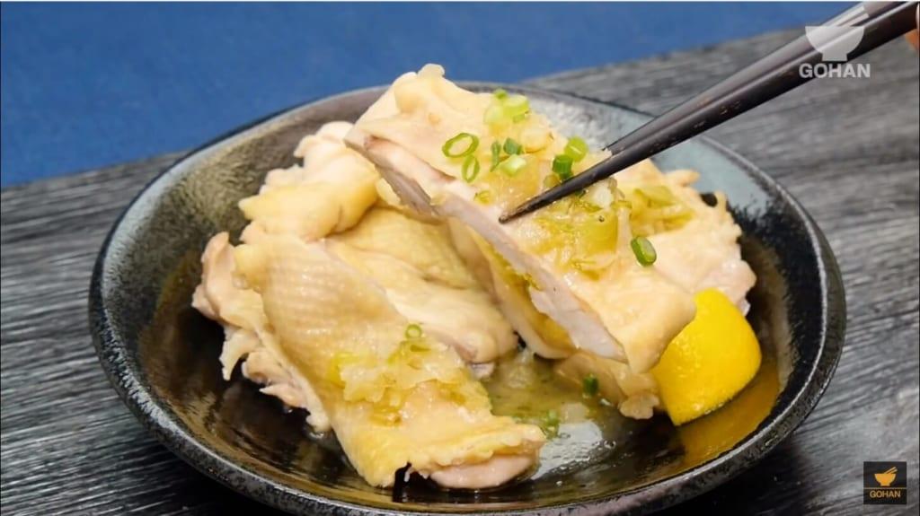 レモンのさっぱりと鶏肉レシピ