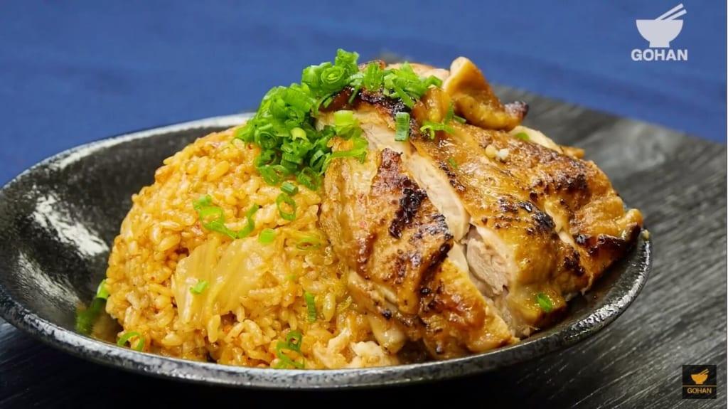 香ばしい鶏肉ご飯