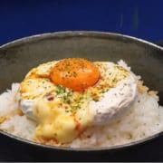 カマンベールチーズの卵かけご飯