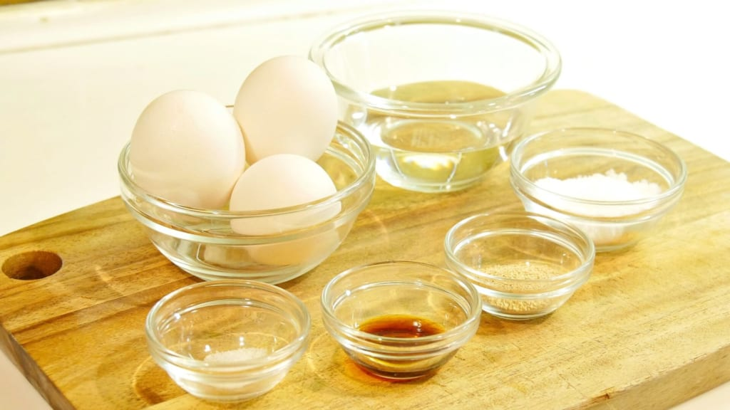 卵焼きの材料