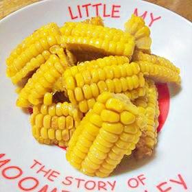 揚げたトウモロコシ