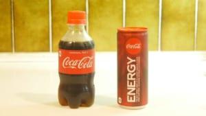 コカ・コーラとコカ・コーラエナジー