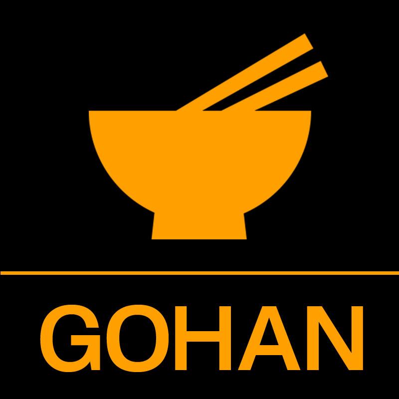 【GOHAN】ロゴ