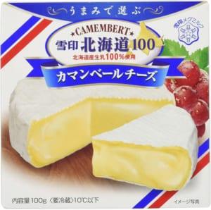 雪印のカマンベールチーズ