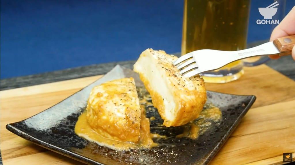 味噌漬けしたカマンベールチーズ
